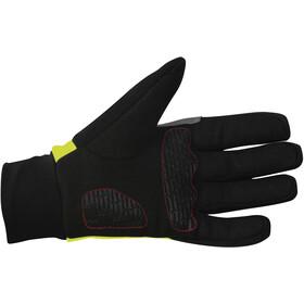 Sportful Polar Gloves yellow fluo/black